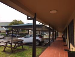 Carport area