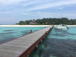 Jetty to the island