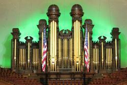 Conciertos del órgano en el Tabernáculo