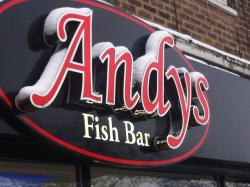 ‪Andy's Fish Bar‬