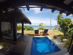 Bure daybed and plunge pool.