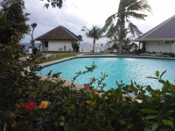 Pool and surrounding area