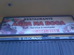 Restaurante Agua Na Boca