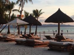 cabanas on the beach