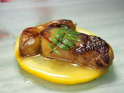 Pan-fried Duck Liver with citrus sauce