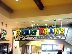 Great Khan Mongolian BBQ