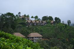 View of the resort from its Helipad