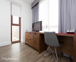The Queen Bedroom Suite at the Hotel Indigo