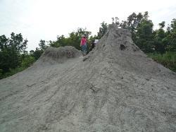 乌山顶泥火山