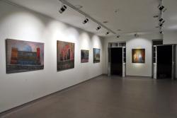 Vista de una de las salas de la galeria...
