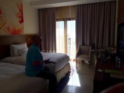 Schöne Hotelanlage