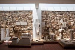 Museum Collection at Temple of Demetre
