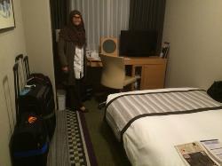 HOTEL SUNROUTE PLAZA SHINJUKU SMALL DOUBLE ROOM