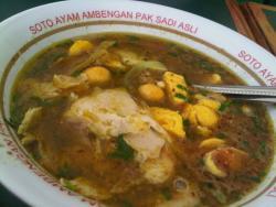 Soto Ayam Ambengan