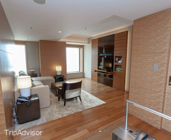 The Executive Suite at the Intercontinental Hotel Osaka