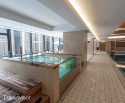 The Pool at the Intercontinental Hotel Osaka