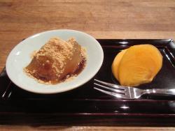 デザート わらび餅
