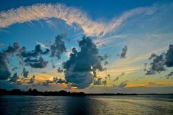 Sunset on Ambergris Caye (161407025)