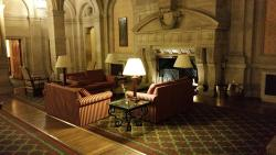 Caracter full rooms and stately public areas