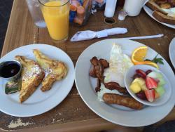 Large servings & tasty food!