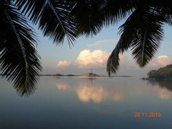 View from the Poovar resort