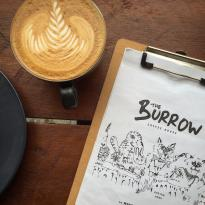 ‪The Burrow Coffee House‬