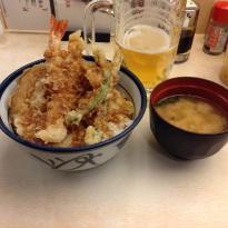 Tenpura Bowl Tenya Tsukiji