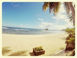 Beach is 2 mins walk from Vivo Inn