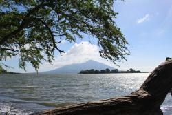 Volcano Maderas and Isleta El Quiste