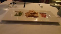 Mexican restaurant appetizer