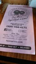 Faye's Pizza
