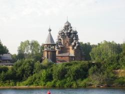 Tikhvin Edinovercheskaya Wooden Church