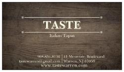 Taste, Italian tapas