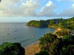 View from Castara Retreats - The Beach
