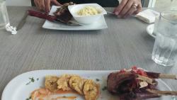 Almuerzo en sábado