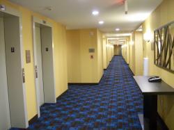 Interior Corridor and Elevators