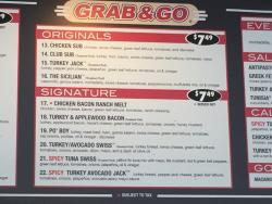 Grab and Go Subs C Street