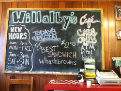 Willalby's Cafe