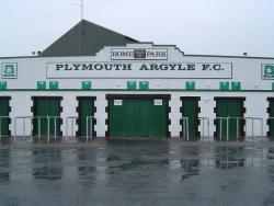 Plymouth Argyle Home Park Football Stadium