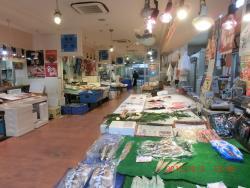 Food Merket in front of Tottori Station