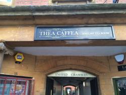 Thea Caffea Enterance