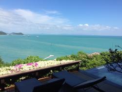 Amazing views from villa