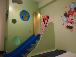 MiKi世界溜滑梯三人套房