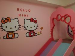 kiki貓溜滑梯三人套房