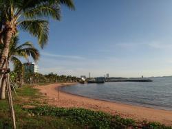 ชายหาดอันเงียบสงบ