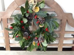 Christmas Wreath making at John's