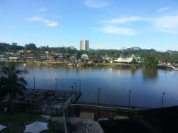 View of river from room