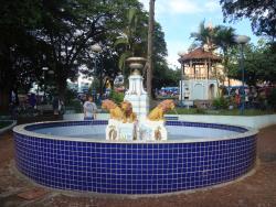 Fonte situada na Praça Rui Barbosa