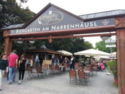 Augustusgarten am Narrenhäusl