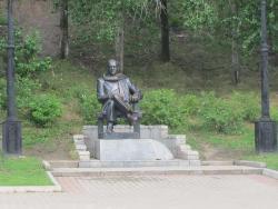 Памятник Н. П. Задорнову